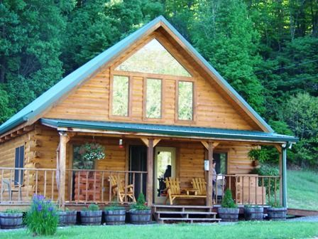 Woods Hill Log Homes Mountain City Tennessee