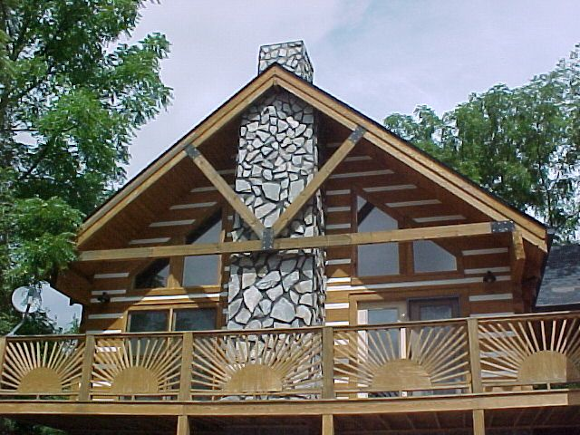 Free home plans tennessee log home designs for Log home plans tennessee